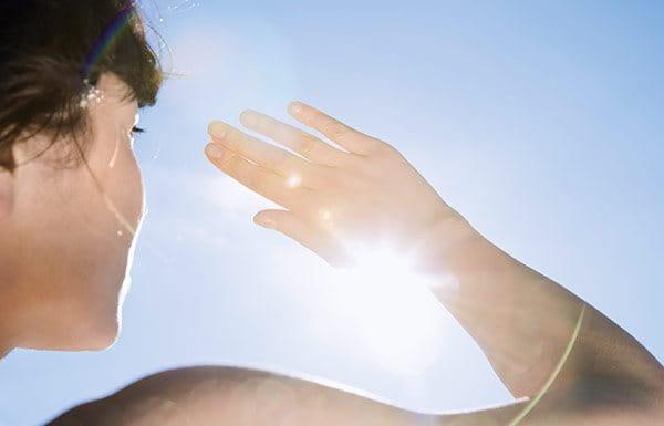 Napfény elleni védekezés