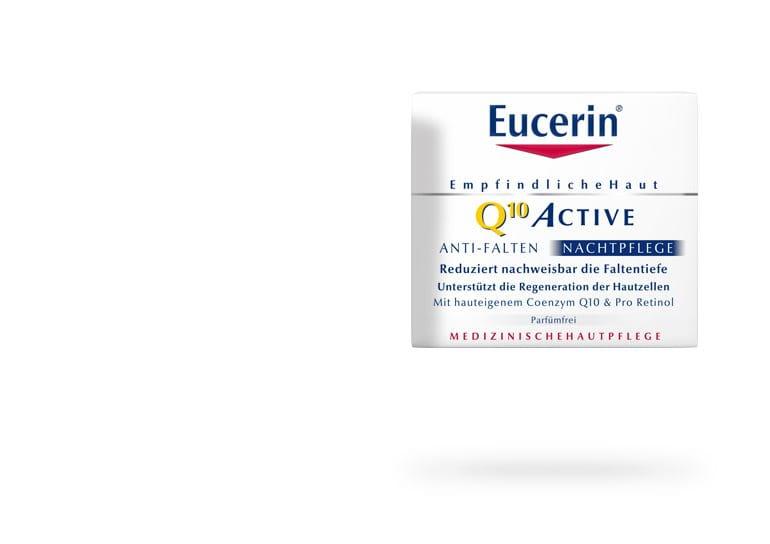 Eucerin® Q10 ACTIVE - Ránctalanító éjszakai arckrém